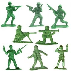 Army men - I had a bunch of them