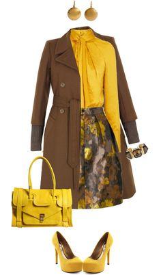 Yellow Brown combo lbv