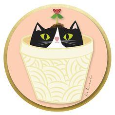 #gatito #gato #ilustración #minino#desing #cat #vector #imagenperfil