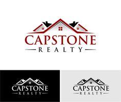 Capstone Realty  |  Featured Logo Design  |  logobids.com  |  #logo #design