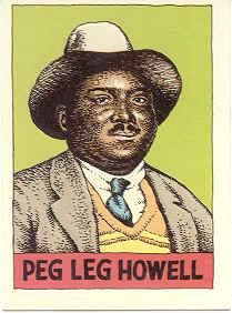 Peg Leg Howell - label nr 2 - Heroes of the Blues by R. Crumb - http://www.celticguitarmusic.com/crumb.htm