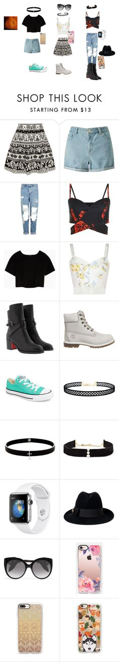 """Untitled #196"" by ameliaristickitty on Polyvore featuring Alexander McQueen, Miss Selfridge, Topshop, Max&Co., STELLA McCARTNEY, Christian Louboutin, Timberland, Converse, LULUS and Lynn Ban"