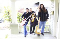 We all posed on Mari's porch after a guitar playing session. MAY2012