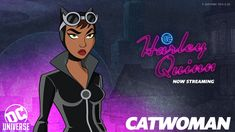 Harley Quinn, Catwoman Selina Kyle, Superhero Villains, Dc Characters, Marvel X, Gotham City, Animation Series, Dc Comics, Tv Series