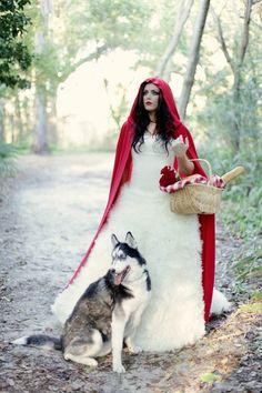 Little Red Riding Hood cape idea by ila