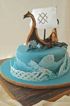 Viking cake!                                                                                                                                                                                 Mais