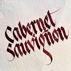 «Red red wine #sachinspiration #calligraphy #calligritype #calligraphymasters…