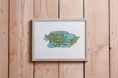 Papergraffiti #1 / Flop / 40x30 cm #papercutting #art #handmade #street #graffiti #type #paper #neur_one