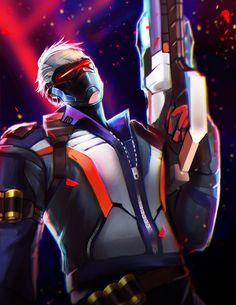 Soldier 76 overwatch by Tielss on DeviantArt