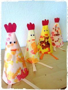 Nos poulettes de Pâques