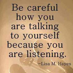 Speak kind words