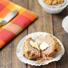 Easy grain free carrot cake muffins.  Great for breakfast or dessert!