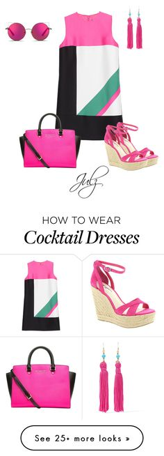 """Untitled #873"" by julz28520 on Polyvore featuring Dsquared2, Matthew Williamson, BCBGeneration, MICHAEL Michael Kors and Kenneth Jay Lane"