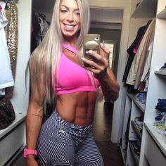 Fernanda happy snaps her strong lean lumps