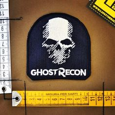 GHOST RECON! #ghostrecon #ghostreconwildlands #patch #patches #militarypatch #toppe #stemmi #lapatcheria #patcheria #stemmimilitari #esercito #military #militare #toppemilitari