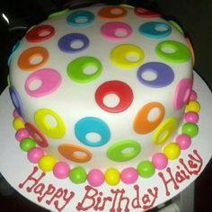 A cake of circles