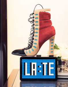 """""""[I'm currently obsessed with] Loewe, Nicolas Ghesquière of Louis Vuitton and Chloé."""" http://www.thecoveteur.com/thassia-naves/"""