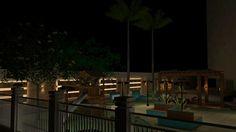 Área Externa - Condomínio Ed. Jardins do Algarve