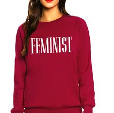 Queen Apparel Feminist Sweatshirt at Amazon Women's Clothing store: Amazon Clothes, Cute Shirts, Queen, Fashion Outfits, Clothes For Women, Sweatshirts, Clothing, Store, Sweatshirt