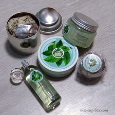 The Body Shop Fuji Green Tea Body Range