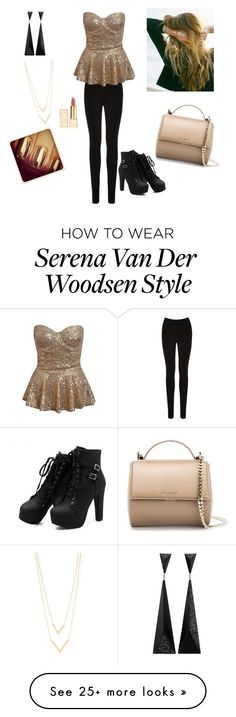 """""""Gossip Girl: Trying to be Serena Van Der Woodsen"""" by shannon9300 on Polyvore featuring Oasis, Lulu DK, Jennifer Zeuner, Givenchy and Tory Burch"""