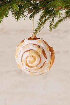 Cinnamon Bun Ornament