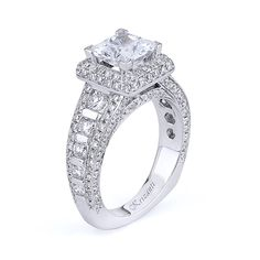 18KTW ENGAGEMENT RING, DIAMOND 1.65CT ROYAL COLLECTION