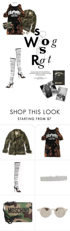 """Swimming through the ashes of another life..."" by texas1226 ❤ liked on Polyvore featuring Hollister Co., Boohoo, Dsquared2, Moschino and Miu Miu"