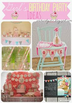 Top Girl's Birthday Party Ideas!