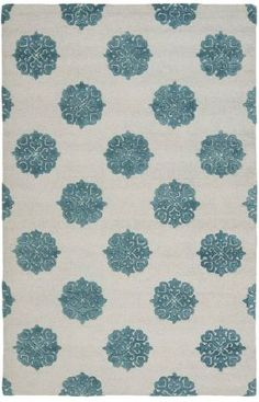 Safavieh Soho SOH213 Ivory Light Blue Rug
