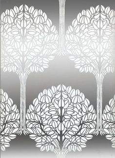 Silver tree background