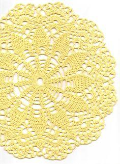 Wedding Crochet doily lace doily table decoration by DoilyWorld, £4.50