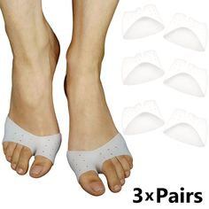 Bunion Corrector Foot Sleeves – Ideal Forefoot Pads for Ball of Foot Metatarsal Cushioning