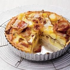 Witlof-aardappeltaart - Recept - Allerhande - Albert Heijn (um, put this on the grocery list). Beignets, Savory Cupcakes, Real Food Recipes, Cooking Recipes, Healthy Recipes, Savory Pastry, Good Food, Yummy Food, Oven Dishes
