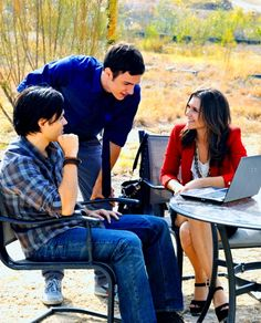 """Ethan, Thayer and Emma """"The Lying Game"""" Alexandra Chando, The Lying Game, Really Good Movies, Abc Family, Good Books, Amazing Books, Best Tv, Actors & Actresses, Tv Shows"""