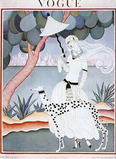 This image is scanned from William Packer's The Art of VOGUE Covers 1909 - 1940, page 106, ISBN: 0 - 7064 - 1724 - 0