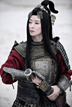 sexy armour, woman in asian armour