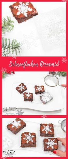 Schneeflocken-Schablone schnell und einfach selber machen!
