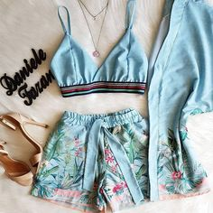 Swag Outfits, Cute Casual Outfits, Casual Chic, Summer Outfits, Stylish Outfits, Girl Fashion, Fashion Outfits, Womens Fashion, Pajama Outfits