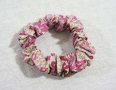 LIBERTY Tana Lawn designer cotton fabric hair scrunchie by TheScrunchiePuss