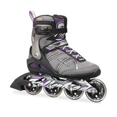 Rollerblade Women's Macroblade 84 Inline Skates - Black/Purple