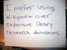 Librarian Shaming #wikipedia