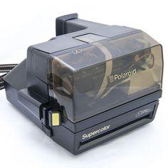 Polaroid Supercolor Elite *TRANSPARENT TOP* 600 Film Camera Impossible Project