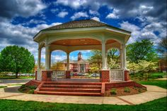 Gazebo in Cleveland, Tennessee (Alumni Park, Lee University)