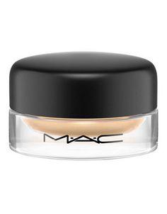 MAC paint pot in soft ochre