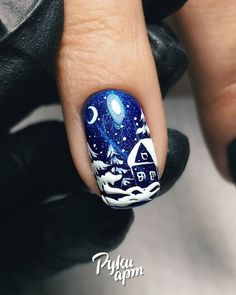 Christmas Tree Nail Art, Manicures, Class Ring, Nailart, Hair Beauty, Design, Style, Ongles, Noel