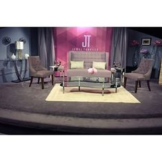 Paige Brown Designs, Nashville wedding planner and event designer, Jewel Tankard Tv talk show set design by Paige Brown Designs