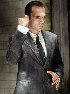 "Hugo Weaving in ""The Matrix"" (1999)"