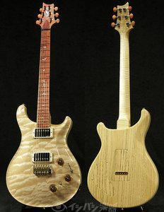 PRS Private Stock Exotic Wood Series P22 Term One-Piece Quilted Maple Top/Swamp Ash Natural
