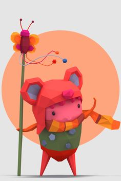 #LOWPOLY http://koikoikoi.com/2013/04/3d-low-polygon-illustrations-by-erwin-kho/